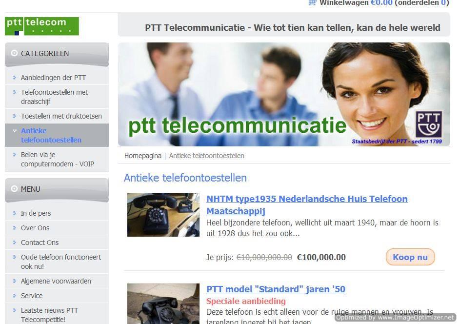 ptt-telecommunicatie