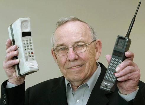 Rudy Krolopp is bekend als de ontwerper van de eerste mobiele telefoon!