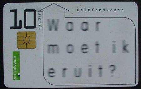 Telefoonkaart-Nederland-PTT-Telecom-18194397