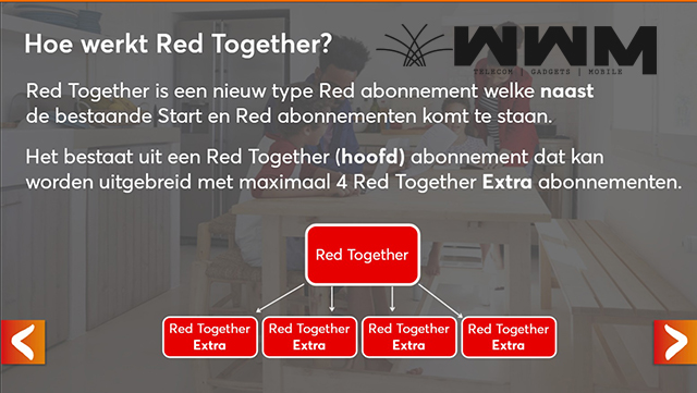 Voordeel Red Together Abonnementen