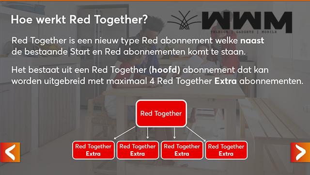 Voordeel Red Together Abonnementen