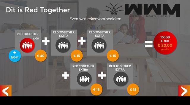 Voordeel Red Together abonnementen voor Ziggo abonnees (2)
