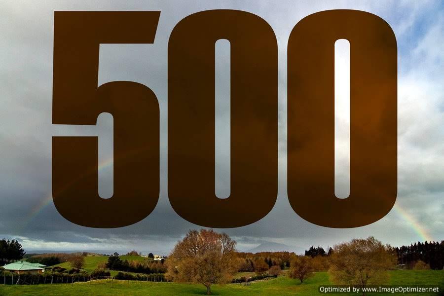 500 Nieuwsberichten