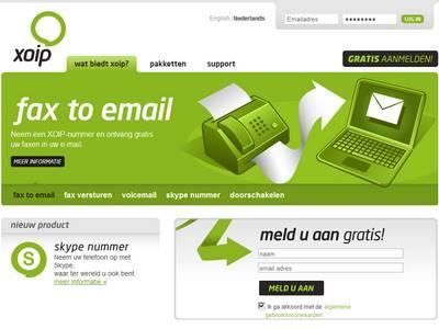 Xoip-Fax2email